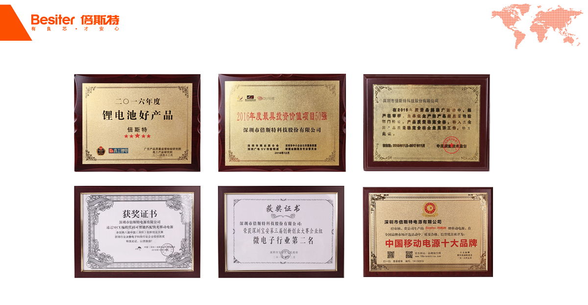 2016年奖状与荣誉2
