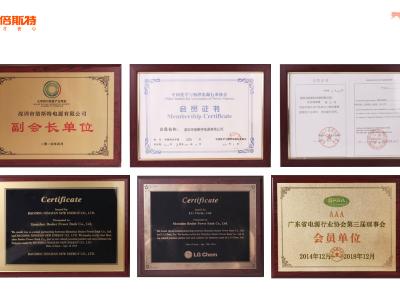 2014年奖状与荣誉